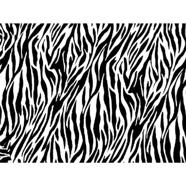 Zebra Stripe Edible Patterned Icing Sheet